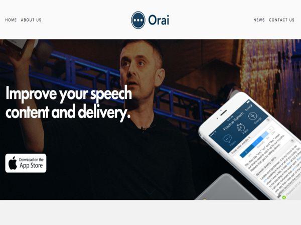 """英语演讲""""orai""""的培训申请"""