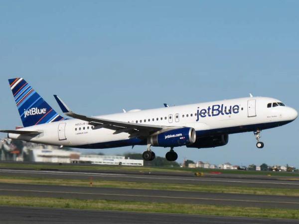 米国の格安航空会社JetBlue