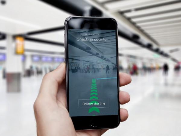 ガトウィック空港で導入された屋内ナビゲーションシステム