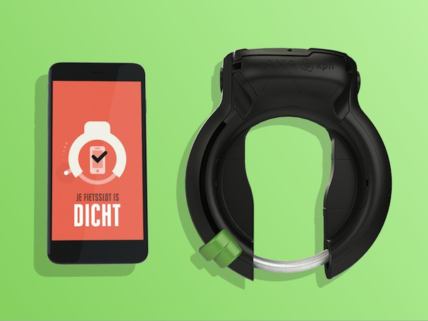 SafeLockの自転車用ロックとスマホアプリ