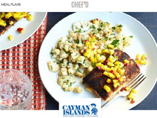 Chef'dで限定販売されているケイマン諸島の郷土料理ミールキット